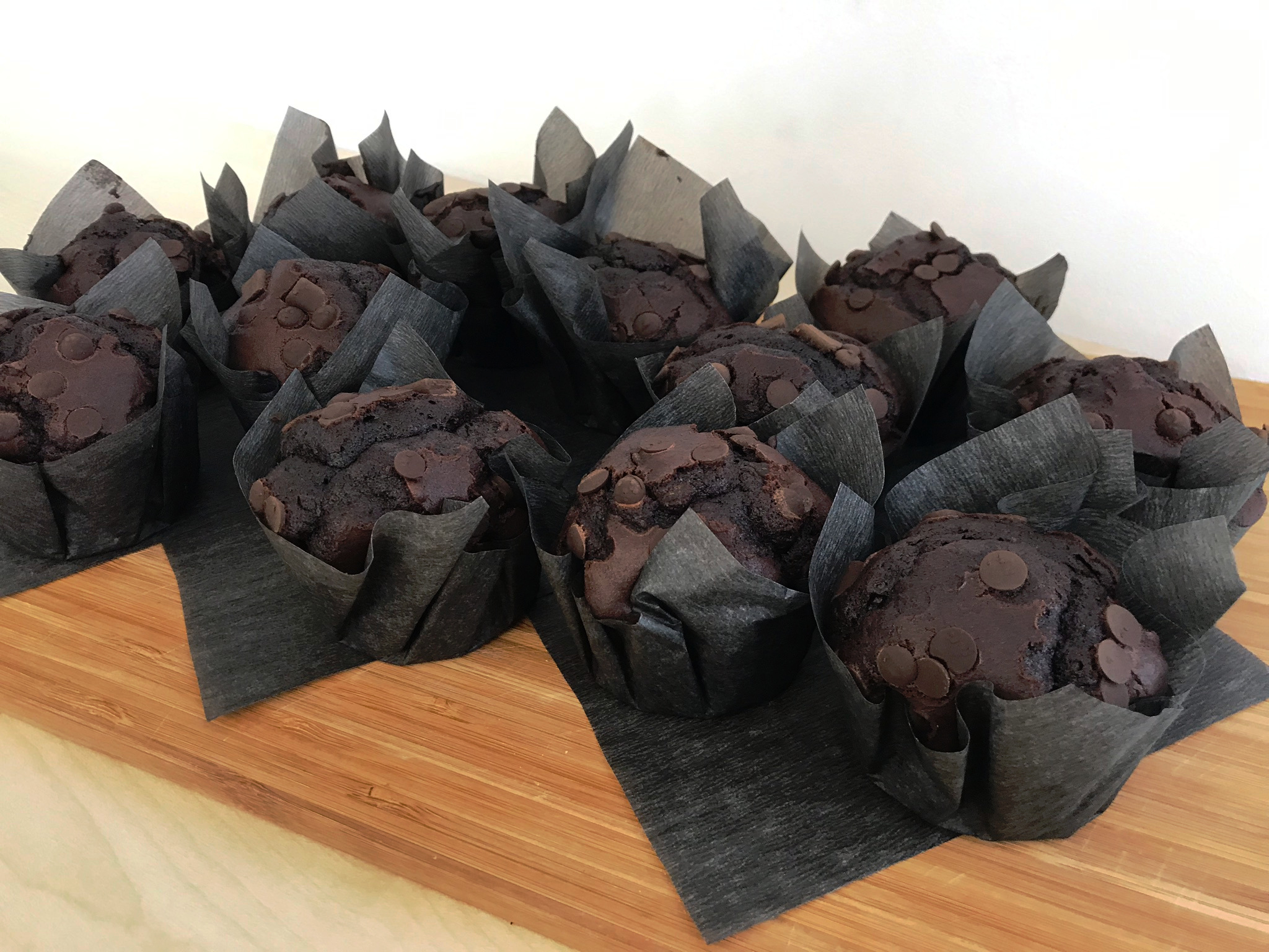 Blechrein Chunky Chocolate Muffins